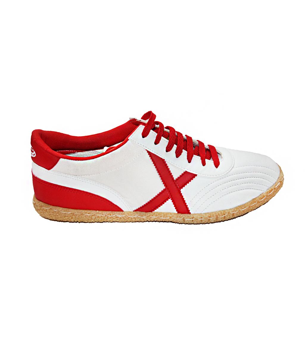 Футзалки Munich Torneo Model 80 бело-красные