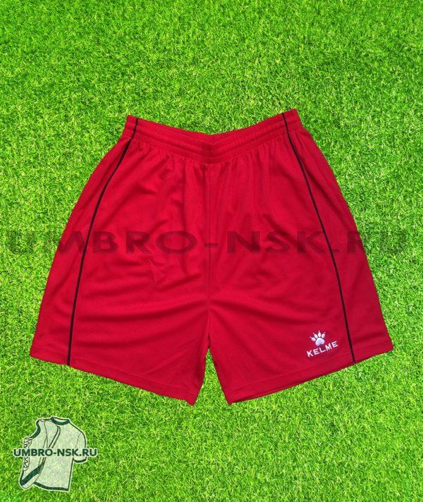 Красные футбольные шорты Kelme 6478