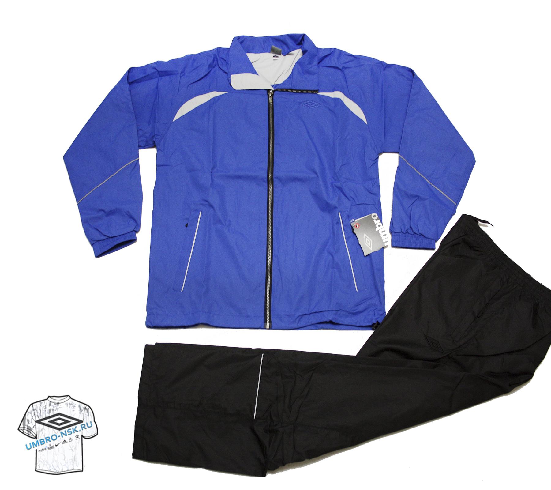 Синий спортивный костюм Umbro Wilson Lined Suit 102500-451