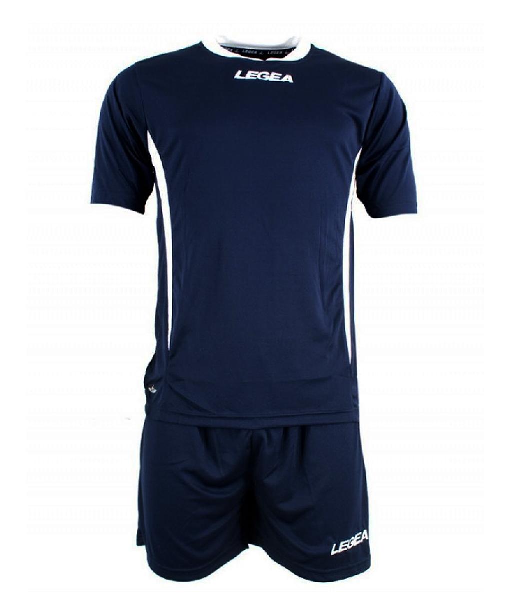 Купить тёмно-синюю футбольную форму Legea Dusseldorf в интернет-магазине