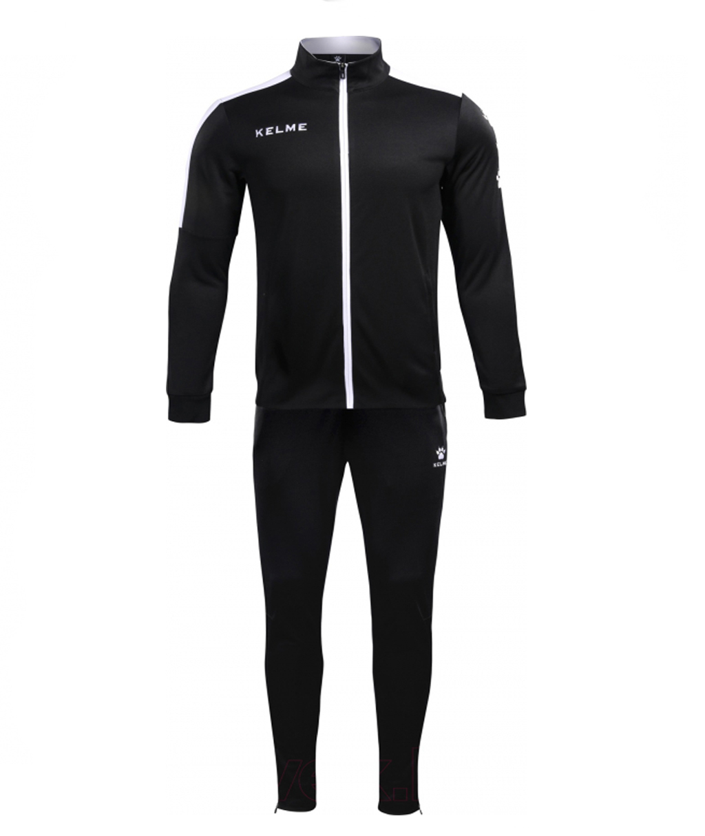 Купить чёрный спортивный костюм Kelme Tracksuit 3771200-003 в интернет-магазине с доставкой