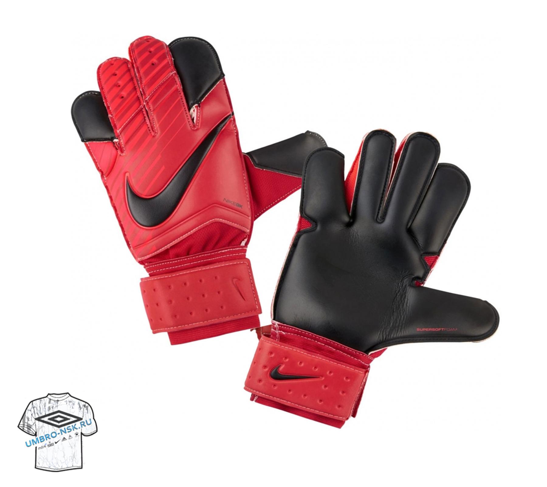 вратарские перчатки nike grip 3