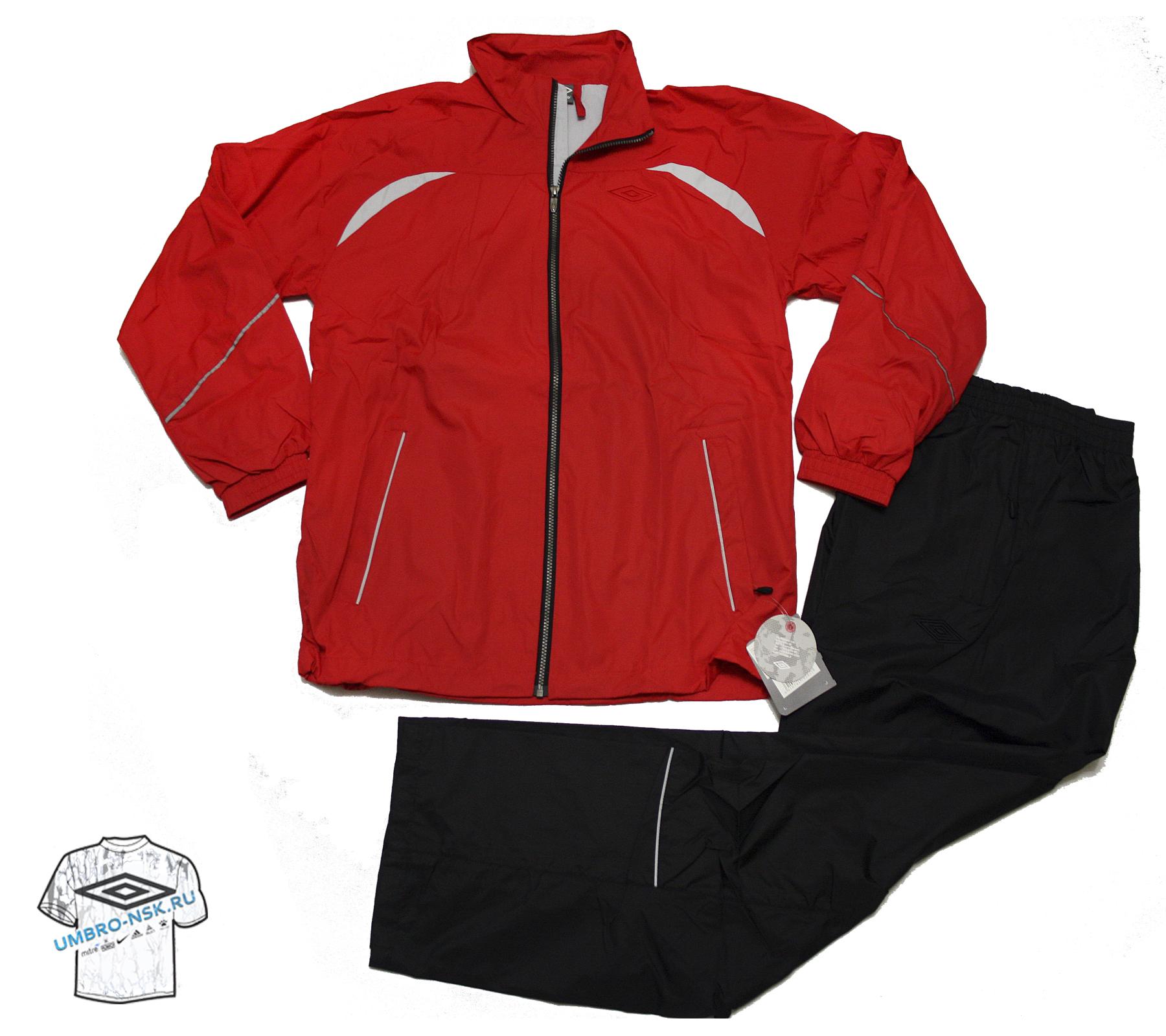 Красный спортивный костюм Umbro Wilson Lined Suit 102500-034