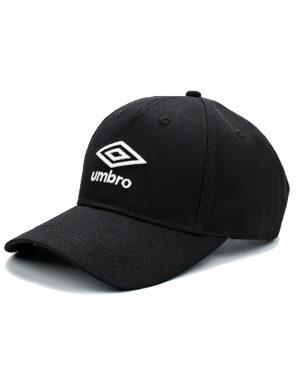 Чёрная бейсболка Umbro CAP 570218-061