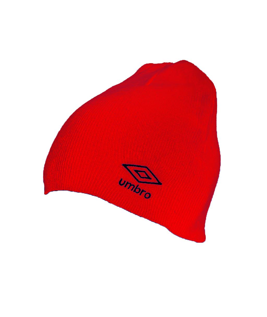 Купить красную шапку Umbro Beanie 62594U в интернет-магазине