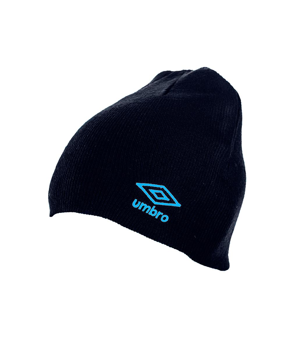 Купить тёмно-синюю шапку Umbro Beanie 62594U-071