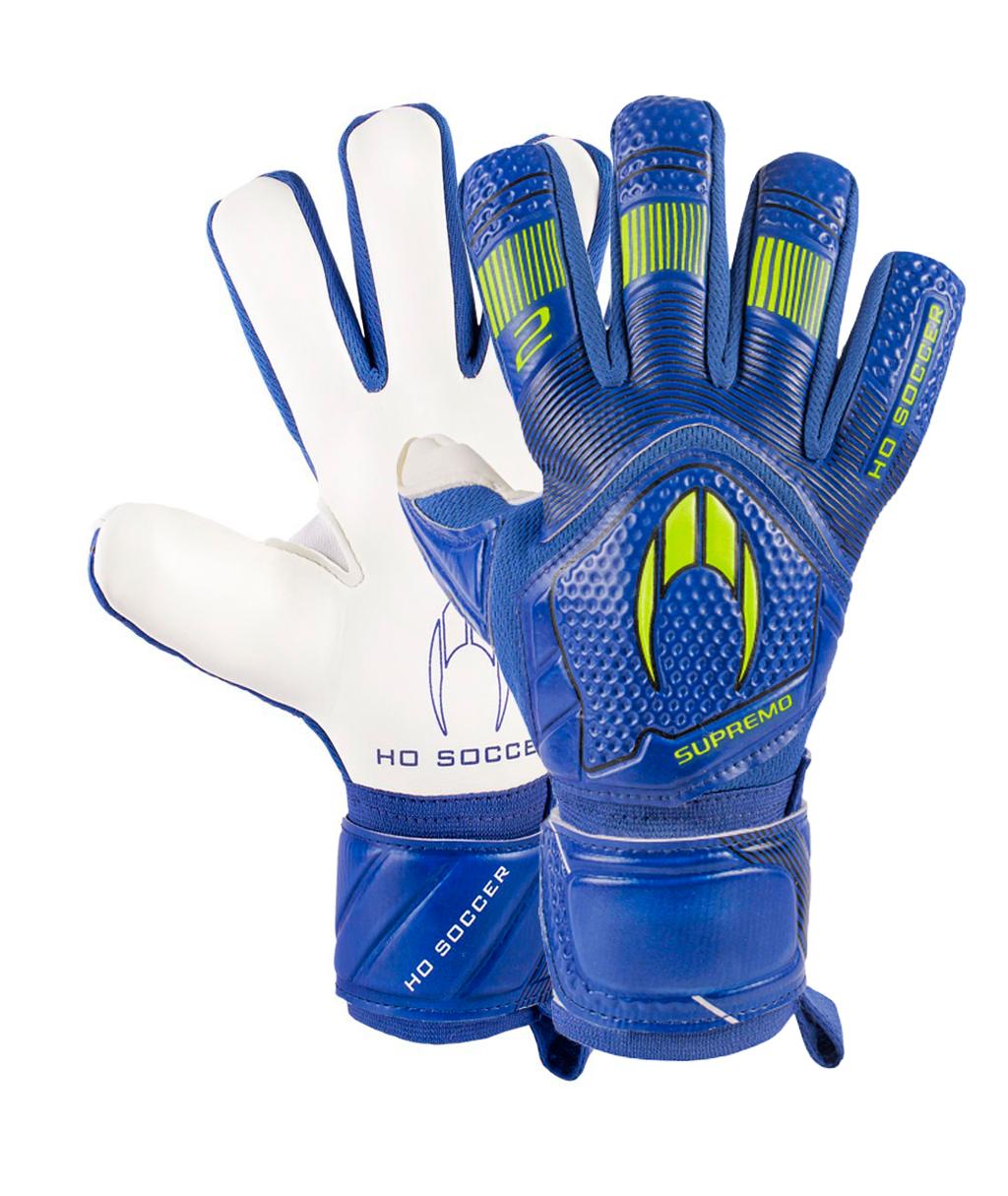 Перчатки HO Soccer CLONE SUPREMO II NEGATIVE STORM BLUE 051.0716