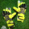 Перчатки HO Soccer Basic Protek Flat Power Lime 051.0717 (с защитой)
