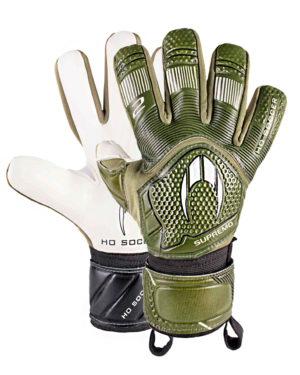 Перчатки HO Soccer Clone Supremo II Negative Army