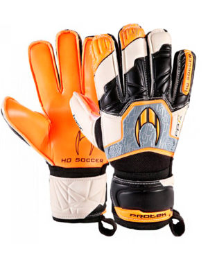 Перчатки HO Soccer Basic Protek Flat Orange Legend 051.0729 (с защитой)