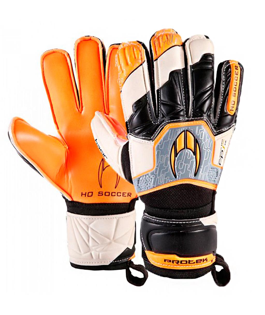 Перчатки HO Soccer Basic Protek Flat Orange Legend 051.0729