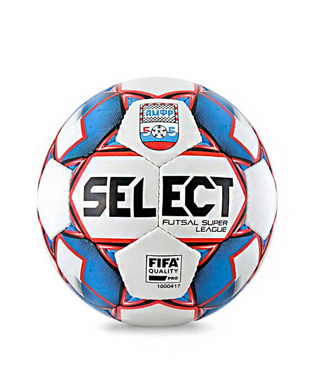 Купить мяч Select Super League АМФР РФС FIFA 850718 (Размер 4)