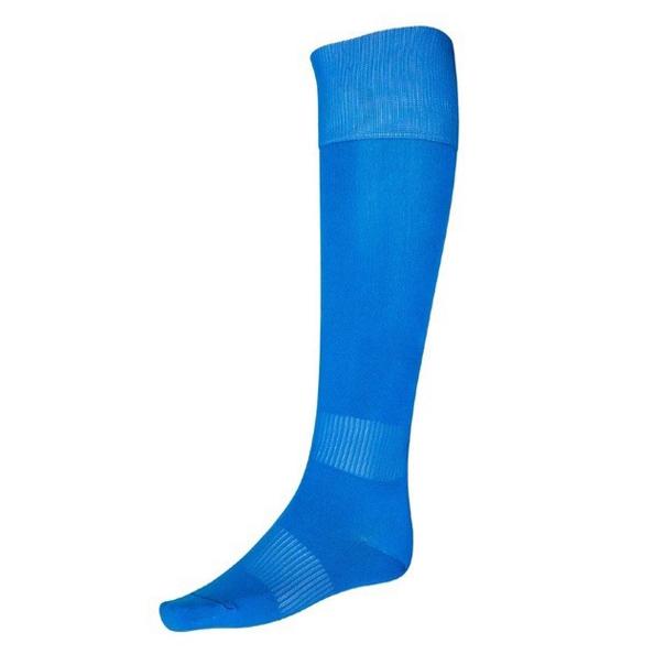 Купить синие гетры футбольные с хлопковым носком в магазине