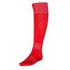 Красные гетры футбольные с хлопковым носком