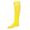 Жёлтые гетры футбольные с хлопковым носком