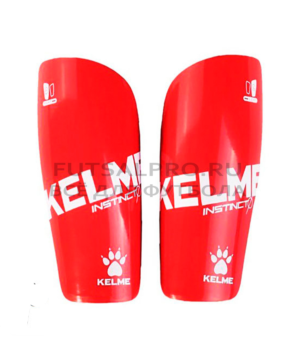 Купить красные Футбольные щитки-вкладыши Kelme Instinct K15S948-610