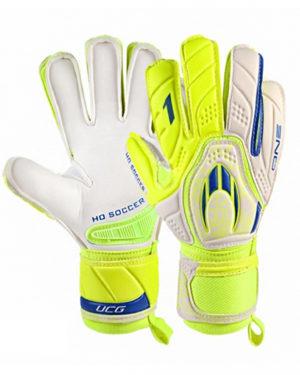 Перчатки HO Soccer One Flat Lime Spark 051.0748