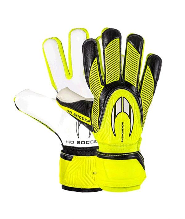 Детские перчатки HO Soccer Clone Phenomenon Negative Lime