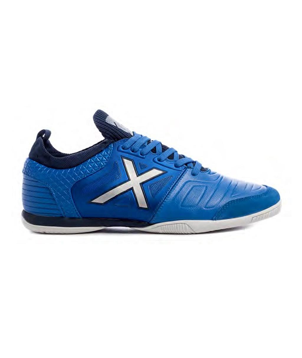 Купить футзалки синие Munich TIGA Leather Indoor 3191006