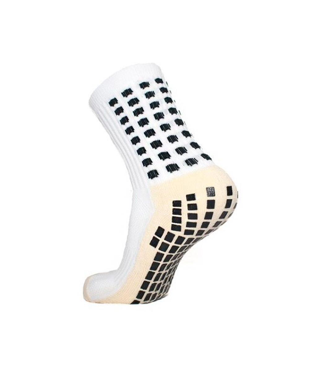 Купить Белые футбольные носки – противоскользящие