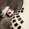 Белые футбольные носки – противоскользящие