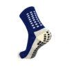 Тёмно-синие футбольные носки – противоскользящие