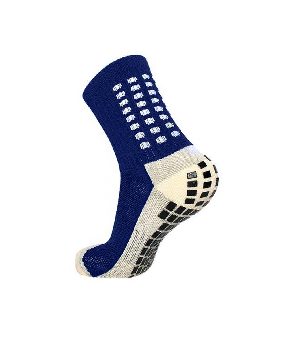 Купить тёмно-синие футбольные носки – противоскользящие в Новосибирске
