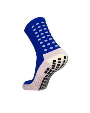 Синие футбольные носки – противоскользящие