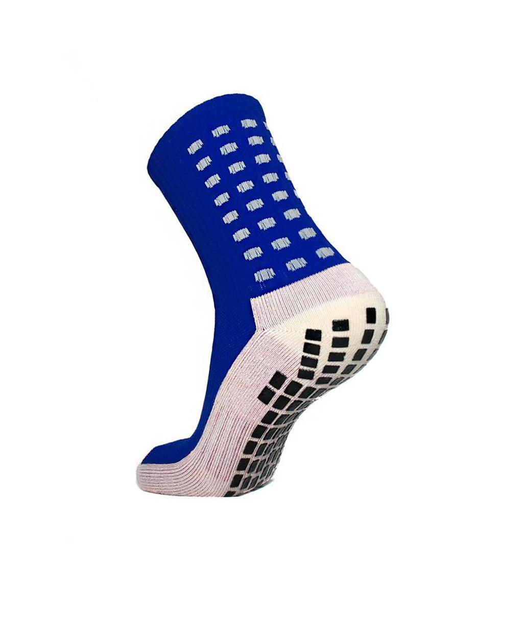 Купить синие футбольные носки – противоскользящие в Новосибирске