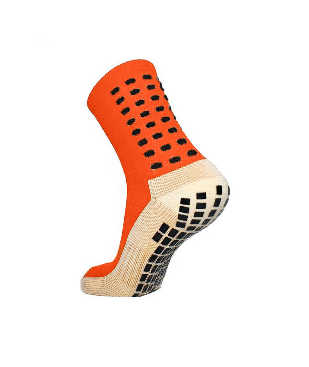 Купить оранжевые футбольные носки – противоскользящие