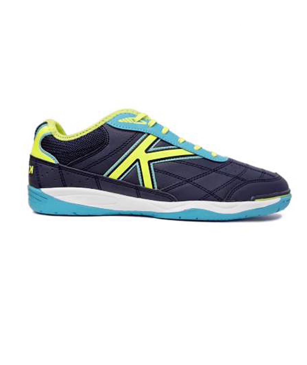 Купить футзалки Kelme Goleiro 55905-358 тёмно-синие в интернет-магазине