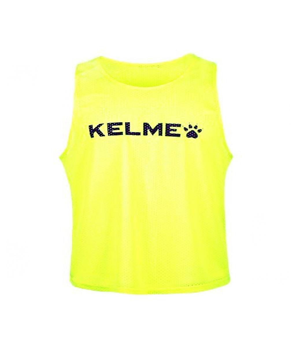Купить детскую манишку Kelme Training BIB салатовую в интернет-магазине