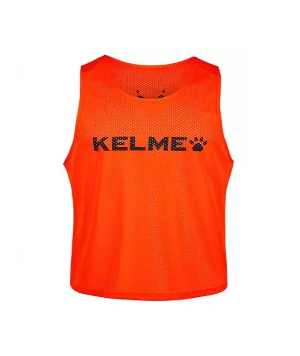 Купить оранжевую детскую манишку Kelme Training BIB в интернет-магазине