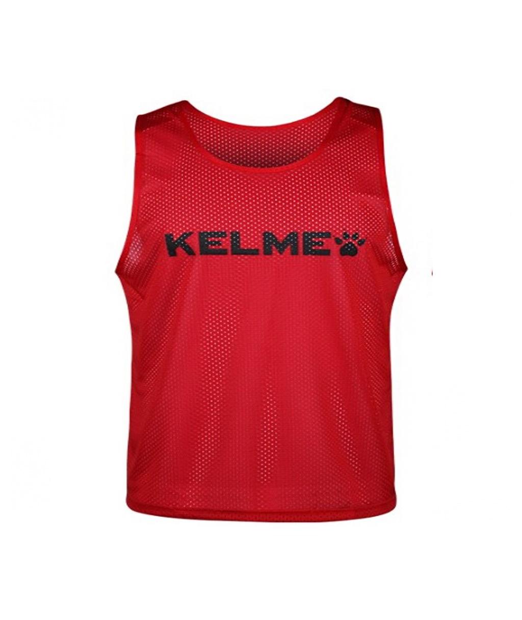Купить красную детскую манишку Kelme Training BIB в интернет-магазине
