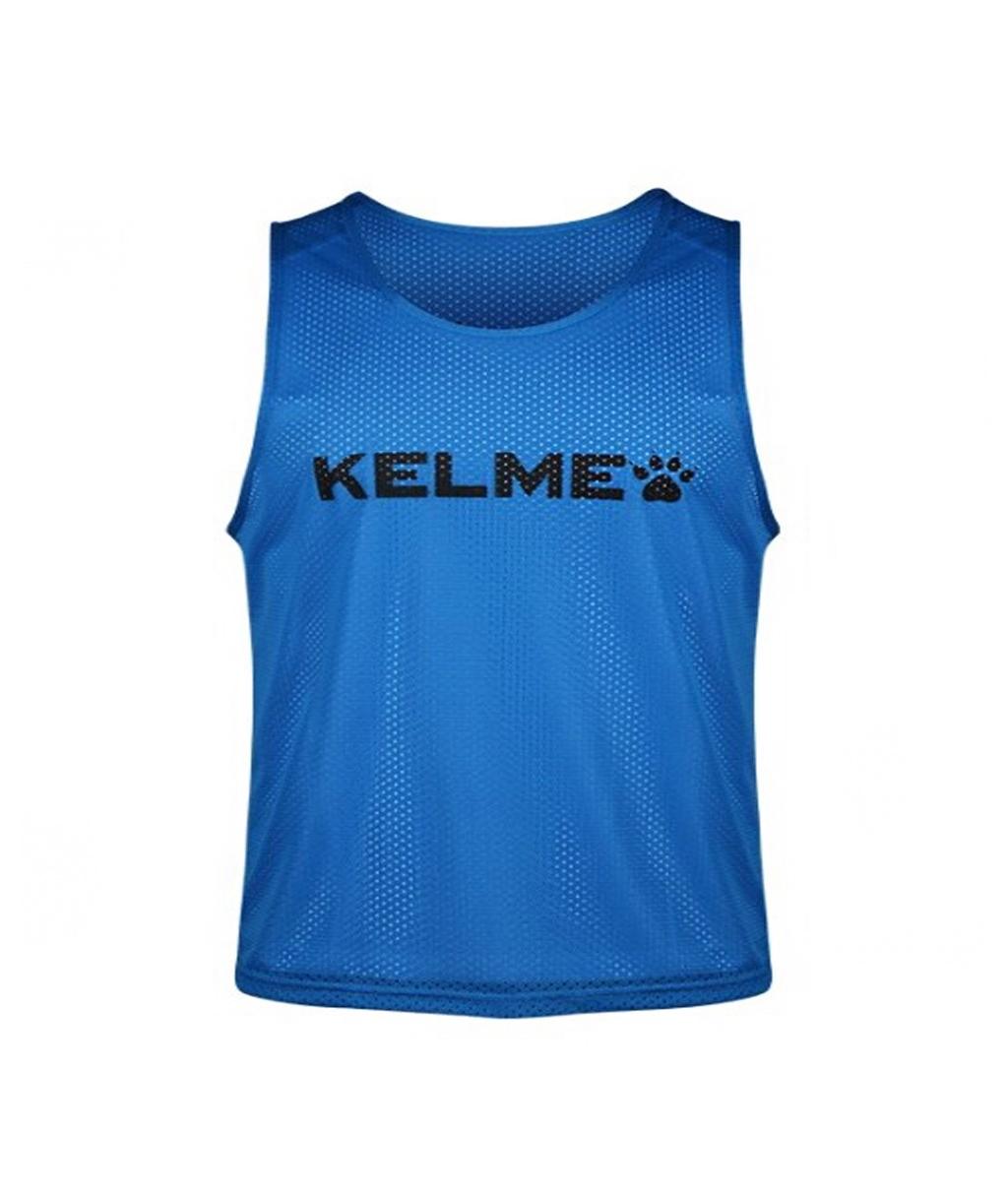 Купить синюю детскую манишку Kelme Training BIB в интернет-магазине