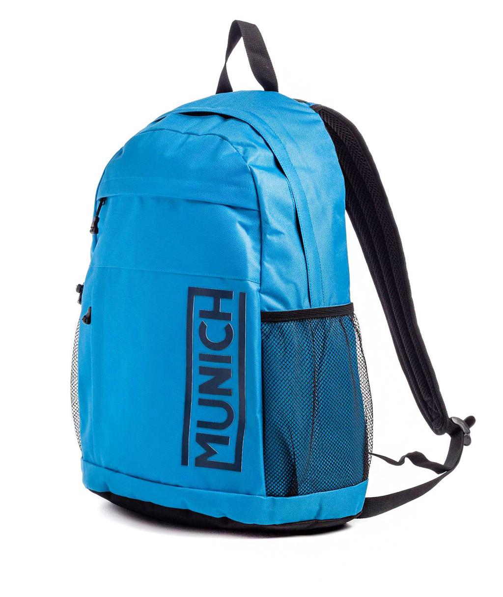 Купить синий рюкзак Munich Slim 7040077 в интернет-магазине