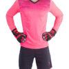 Вратарская форма Kelme Zamora 3871007-997 розовая
