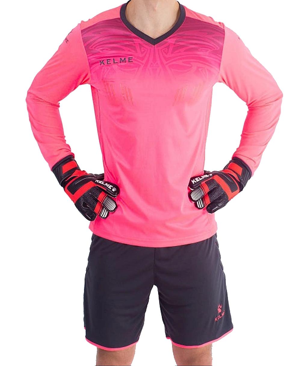 Купить розовую вратарскую форму Kelme Zamora 3871007 в интернет-магазине