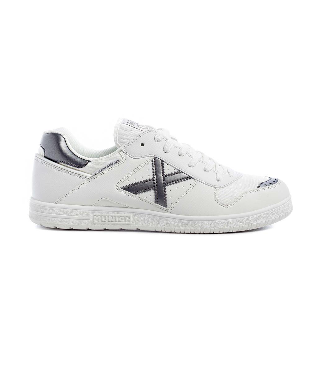 Купить белые футзалки Munich Continental V2 4104011 в интернет-магазине