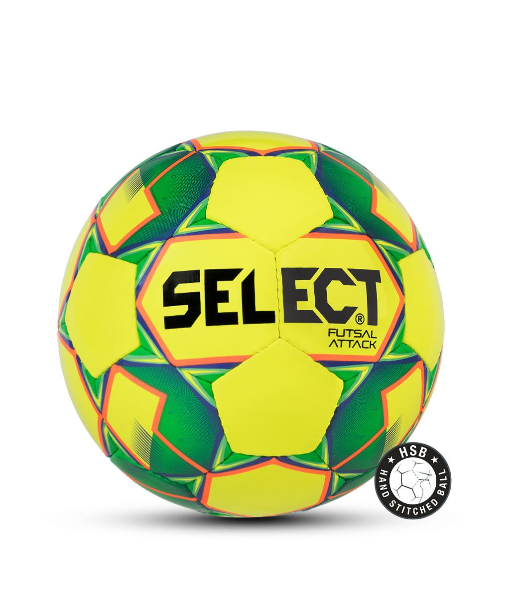 Купить мяч Select Futsal Attack 854615 жёлтый (Размер 4) в интернет-магазине