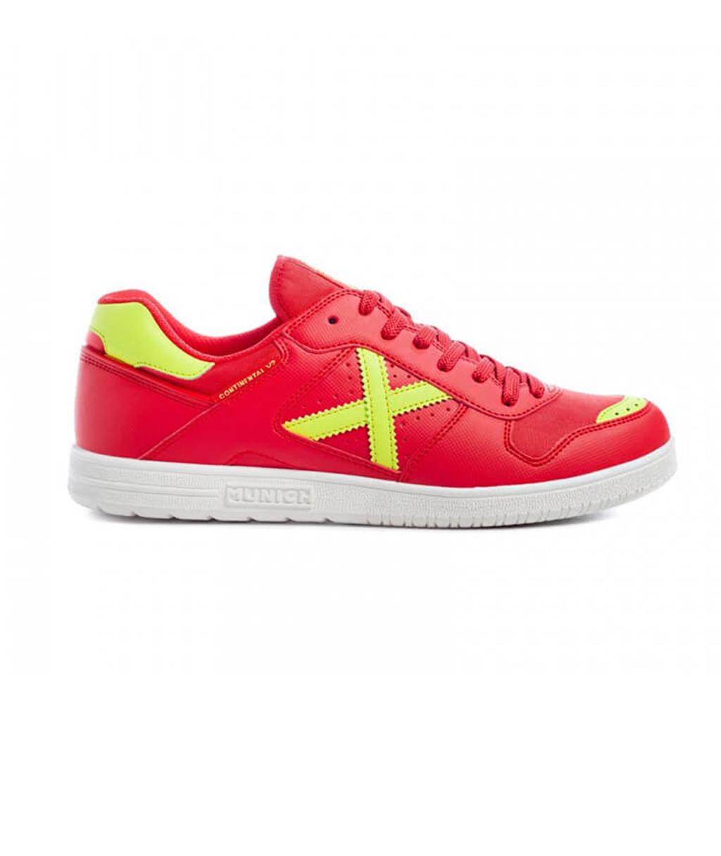 Купить красные футзалки Munich Continental V2 4104016 в интернет-магазине