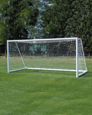 Сетка для юниорского футбола. Нить 2,8 мм Ячейка 100Х100 мм (пара)