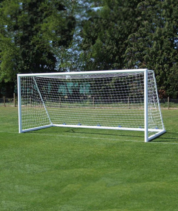 Сетка для юниорского футбола. Нить 3,5 мм Ячейка 100Х100 мм (пара)