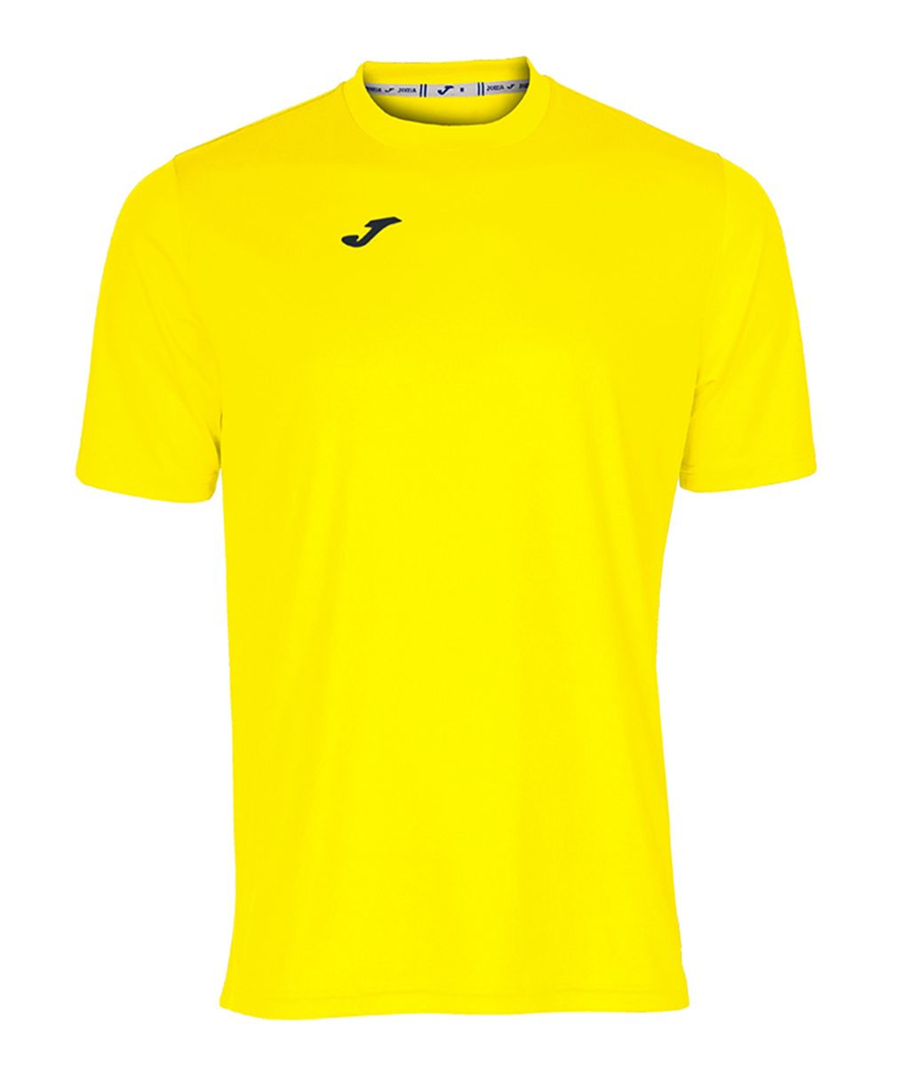 Купить жёлтую футболку Joma Combi 100052.900 в интернет-магазине