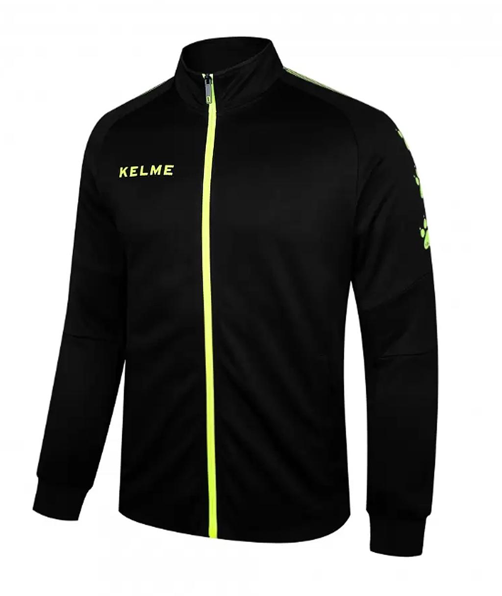 Купить чёрную олимпийку Kelme Training Jacked 3881324-012 в интернет-магазине