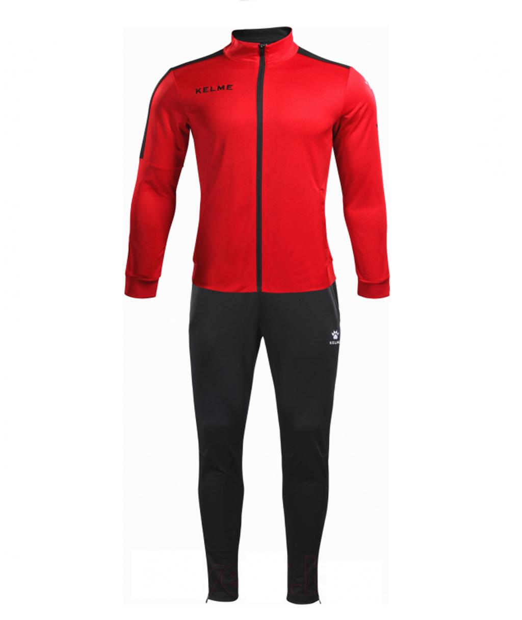 Купить красный детский спортивный костюм Kelme Tracksuit 3773200-611 в интернет-магазине
