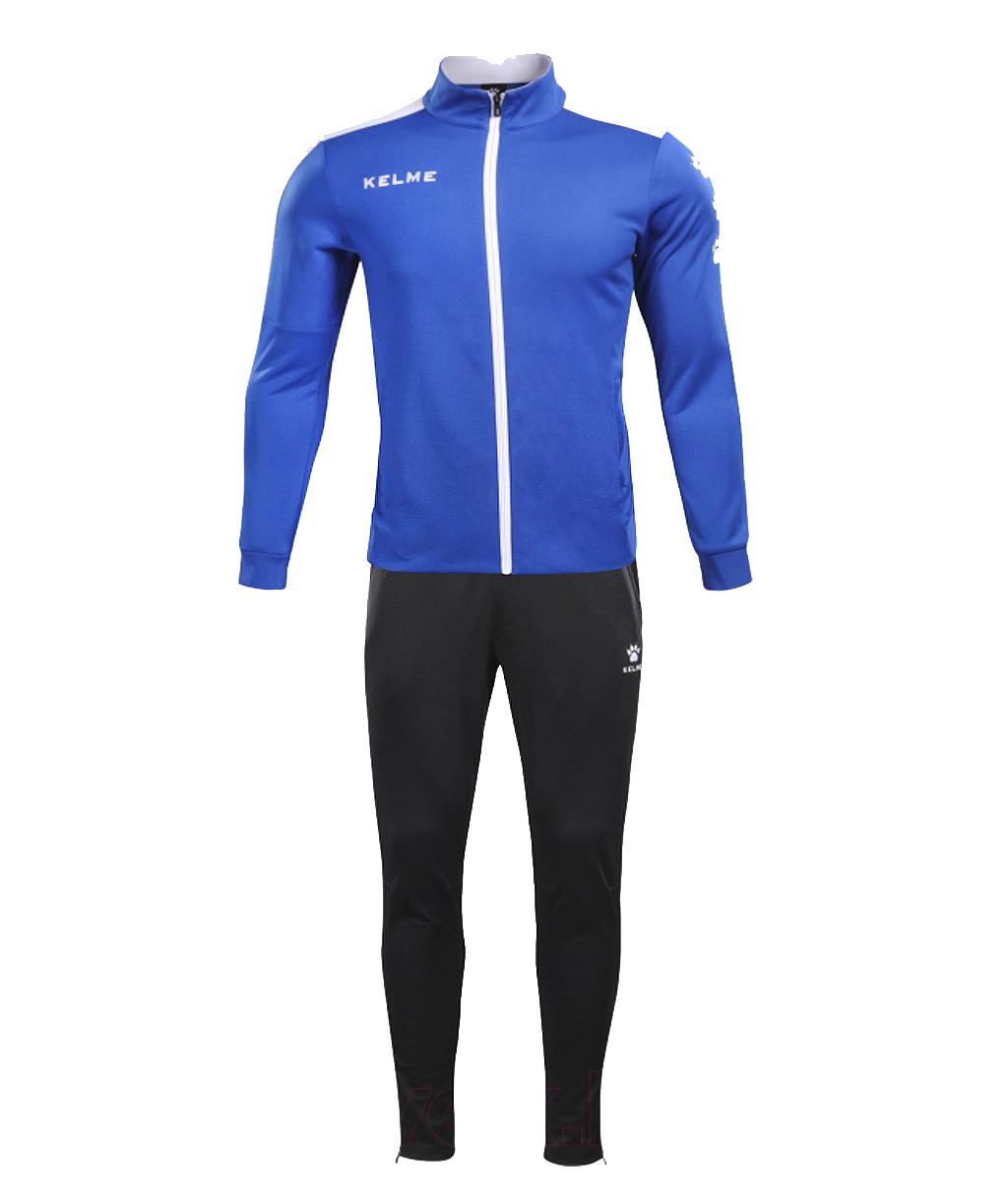 Купить синий детский спортивный костюм Kelme Tracksuit 3773200-409 в интернет-магазине