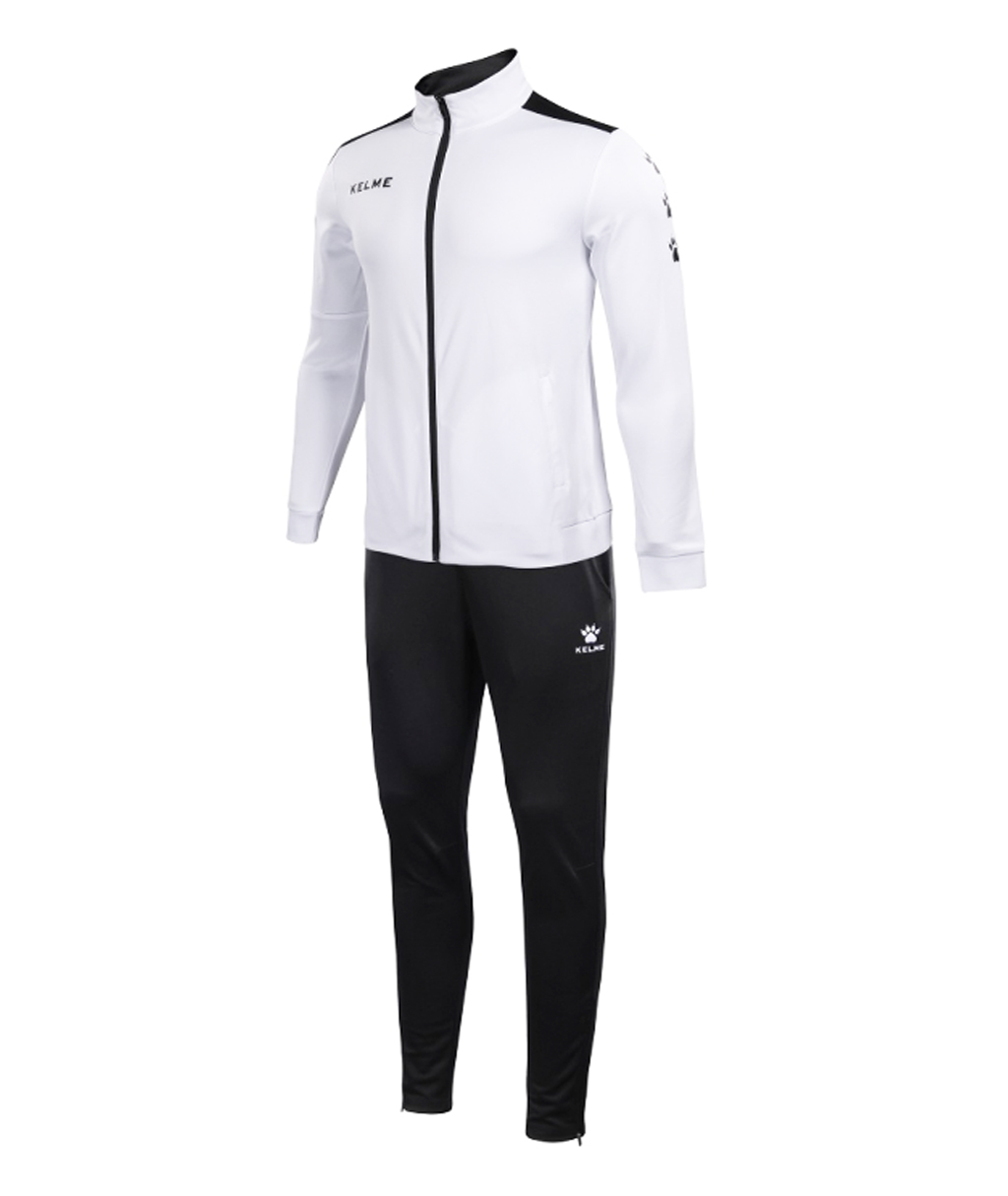 Купить белый спортивный костюм Kelme Tracksuit 3771200-103 в интернет-магазине