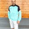 Олимпийка Kelme Knitted Jacked 8061WT1009-328 бирюзовая