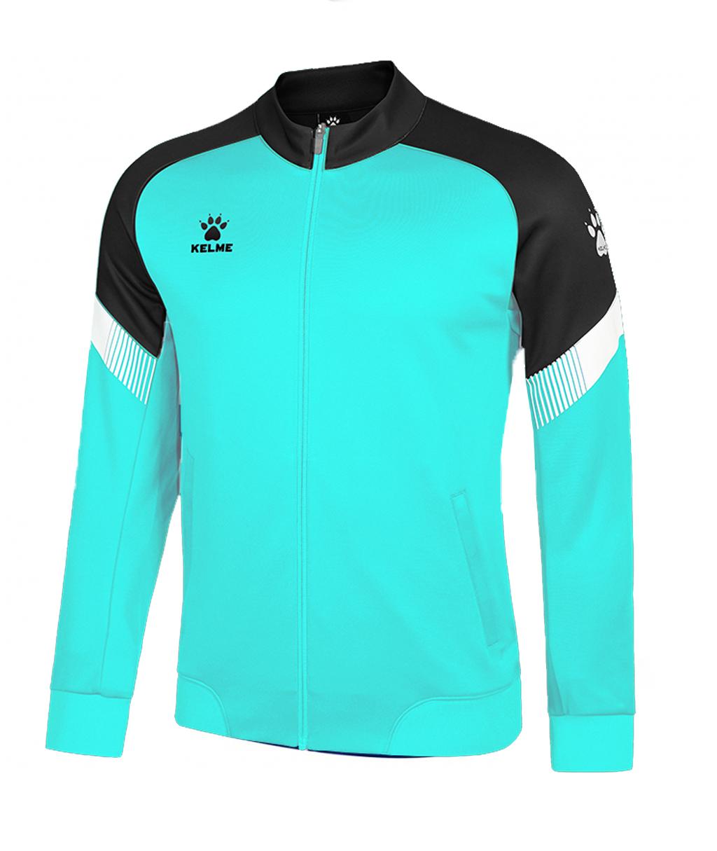Купить бирюзовую олимпийку Kelme Knitted Jacked 8061WT1009-328